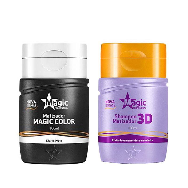 Magic Color Platinum Kit 2 Produtos 100ml - Magic Color