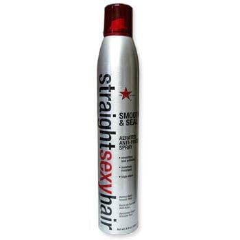 straight sexy hair smooth & seal aerated anti-frizz spray - sexy hair