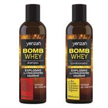 Whey Bomb - Kit 2 Produtos - Yenzah
