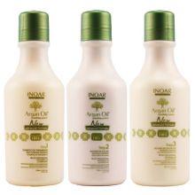 Escova Progressiva Argan Oil System - Kit 250 ml - Inoar