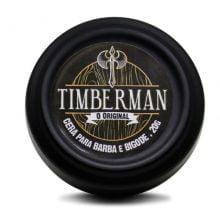 Cera Para Barba e Bigode - Timberman