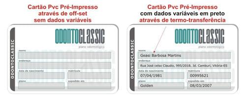 Impressão de dados Variáveis 1x0 em Preto sem Foto acima de 1000 unidades