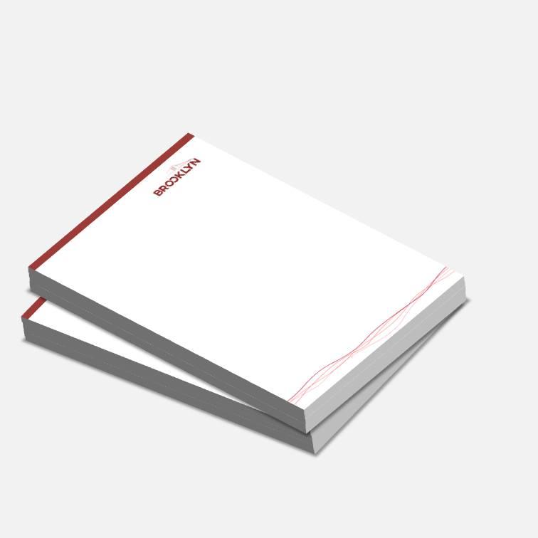 Blocos ou Comandas Sulfite 90g Colorido 10x15cm 4x0 cores c/ 20 unidades