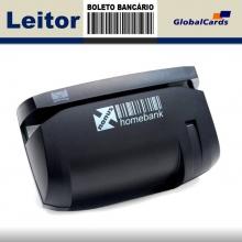 Leitor de Boleto Bancário Nonus - Homebank USB ref 8291
