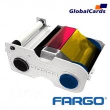 Ribbon Fargo 44210 YMCKOK color 200 impressões Persona C30 dual automática