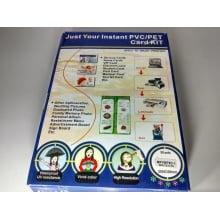 Folha de PVC PET Branco 200x300mm para impressora Jato de Tinta MPVW76D-1 formato A4 (c/ 50 jogos)