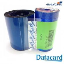 Ribbon Datacard SP30 - Monocromático PRETO Black 546316-701 com 1500 impressões