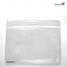 Bolsa de PVC Transparente Horizontal para crachás