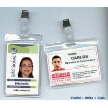 Kit Crachá 4x1 cores + Acessórios - Globalcards