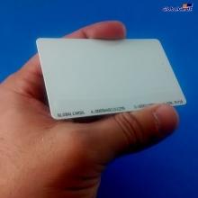 Cartão de Proximidade RFID 125Khz Branco padrão Acuraprox ISO (01 unidade)