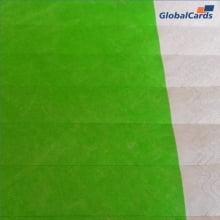Pulseiras Identificação Eventos e Festas Tyvek Verde Fluor/Green (c/10)