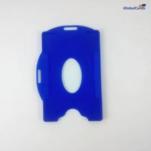Protetor Crachá Rígido Universal Azul BIC 88x57mm (100 un)