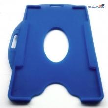 Protetor Crachá Rígido Universal Azul Royal 88x57mm (100 unid)