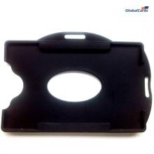 Protetor Crachá Rígido Universal Preto 88x57mm (100 un)