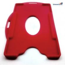 Protetor Crachá Rígido Universal Vermelho 88x57mm (100 un)