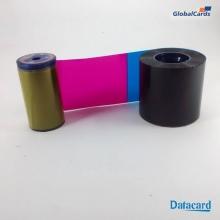 Ribbon Datacard R002 SD260 YMCKT colorido 534700-004 subst 534000-003 c/ 500 impr (min 4)