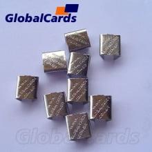 Fixador de solda (chapinha globalcards) cordão 09mm Terminal sem cabeça 7,5mm ref 0480 - (1000 unidades)