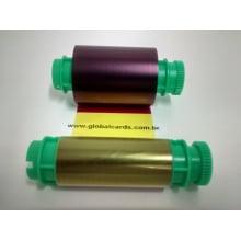 Ribbon Star Colorido YMCKO Point man TP-9200 para 200 impressões  S/ chip