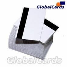 Cartão Magnético PVC c/ Tarja ou Banda Magnética de Alta Coercividade Trilha 1,2,3