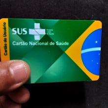 Cartão SUS em PVC 0,76mm 4x4 Cores Impressão Colorida