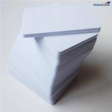 Cartão de PVC Branco 0,76mm CR-80 caixa com 100 unidades