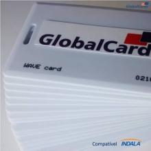Cartão Proximidade Wave Card Clamshell Indala