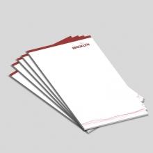 Blocos ou Comandas Sulfite 90g Colorido 10x15cm 4x0 cores c/ 5 unidades
