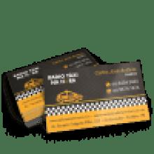 Cartão de Visita Couchê 250g UV FR 9x5cm