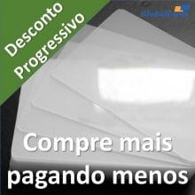 Polaseal Filme Plástico  62x94x0,07 (175micra) para Crachá