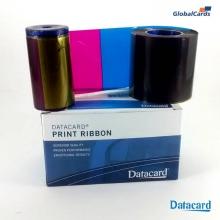 Ribbon Datacard SD260 SP35 YMCKT colorido 534000-003 subst 552854-504 c/ 500 impr NOVO