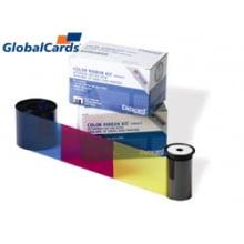 Ribbon Datacard SP35 YMCKT colorido 552854-504 c/ 500 USADO
