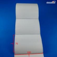 Etiqueta Adesiva Couchê 100x75mm x 1 coluna
