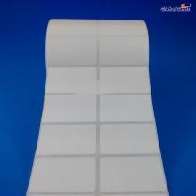 Etiqueta Adesiva Couchê 50x30mm x 2 colunas
