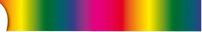 Fitas cetim cores sublimáticas Nº5