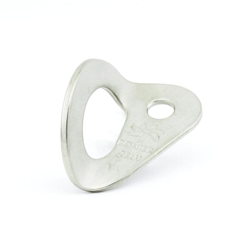 Chapeleta Aço Inox 10 mm 28 kN