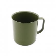 Caneco Plástico (Nylon) de Alta Resistência Verde Oliva