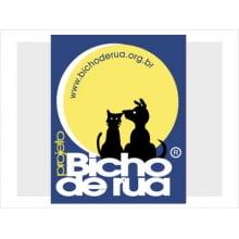 Adesivo Logotipo Projeto Bicho de Rua