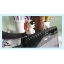Brincos de Celular Cãozinho Carinhoso (3 unidades)