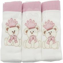 Enxoval para bebe recem nascido ursinha princesa 6 peças