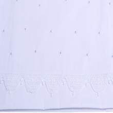 Cueiro lençol de xixi renda renascença poá azul
