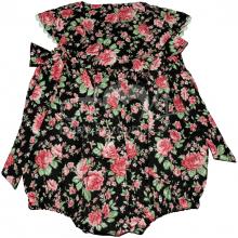 Pimpão infantil laço floral