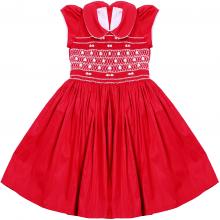 Vestido casinha de abelha vermelho 2 anos - ATACADO