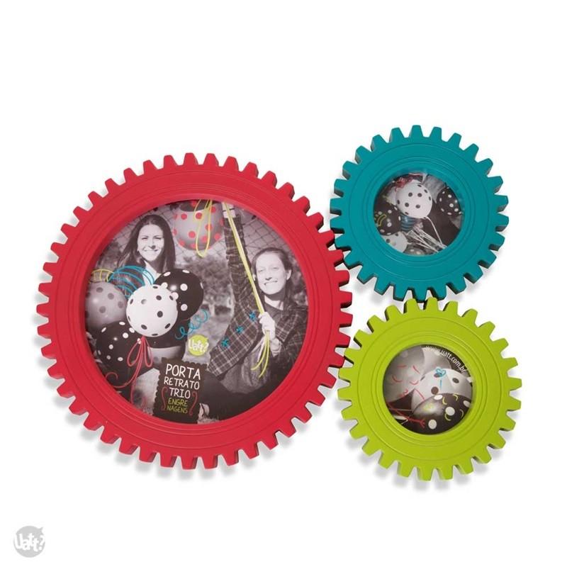 Engrenagens - Porta Retratos de Parede