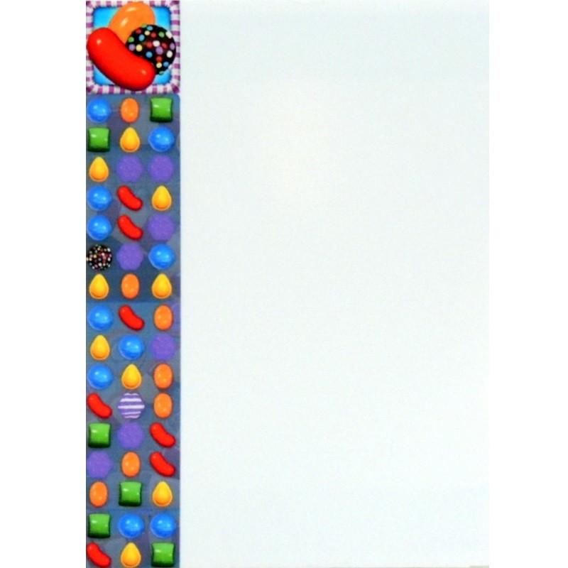 Porta Recados de Geladeira - Candy Crush