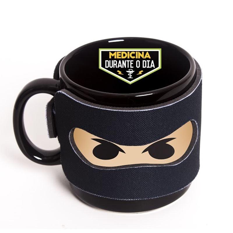 Medicina - Ninja das Profissões - Caneca
