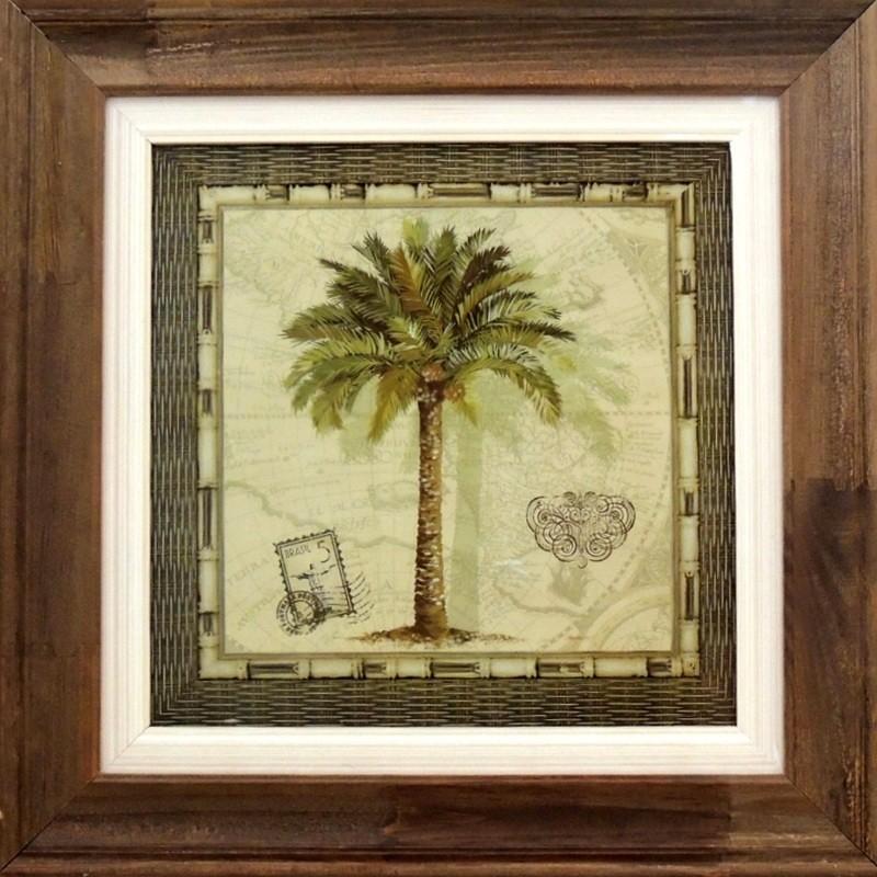 Coqueiro - Cartão Postal- Quadros Natureza