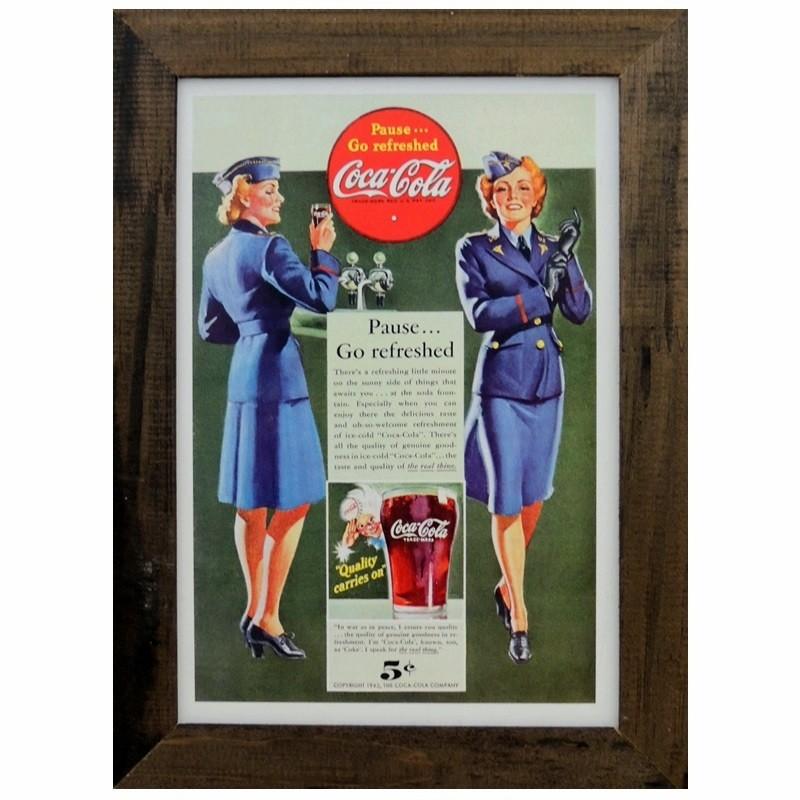 Coca  -Cola - Quadros Retrô