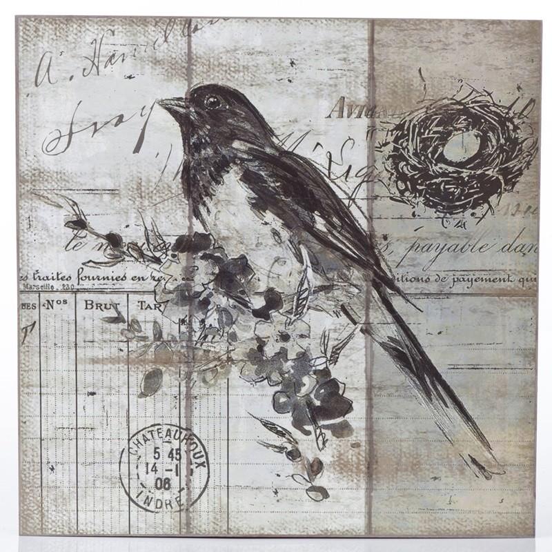 Pássaro Preto- Quadros Natureza
