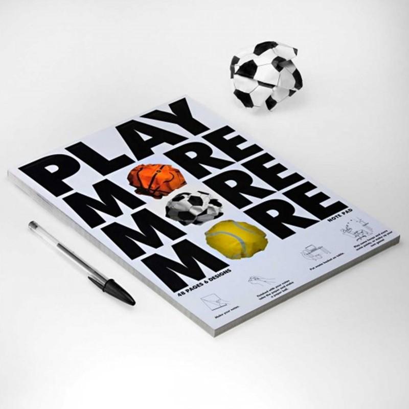 Bloco de Papel - Play More