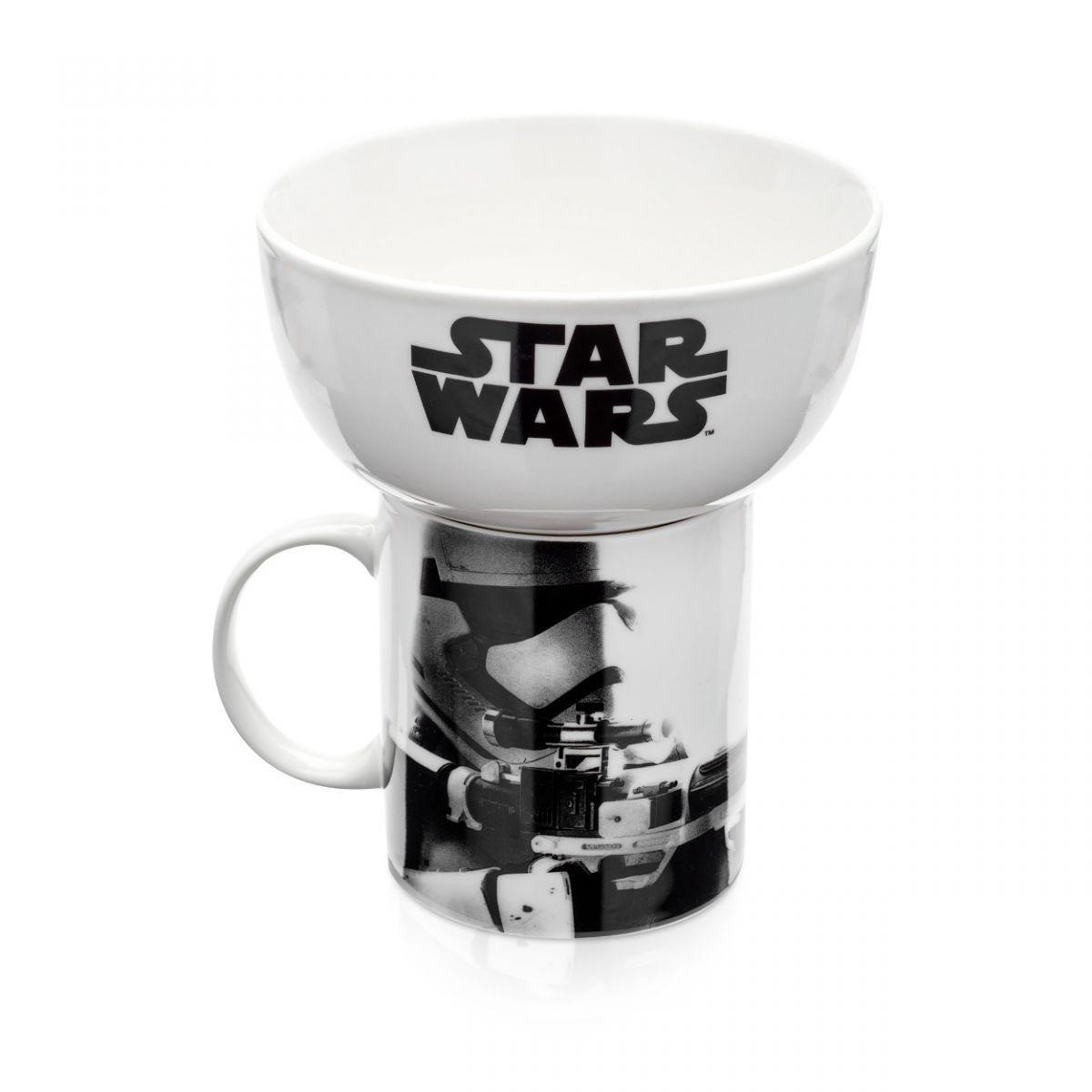 Stormtrooper - Kit Caneca e Tigela Star Wars